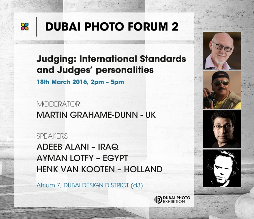 Dubai Photo Forum 2 - Judging: International Standards and Judges personalities
