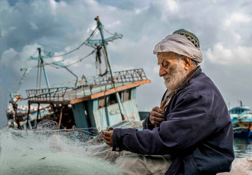 """Fisherman's Net"" by Fatma Fahmy"